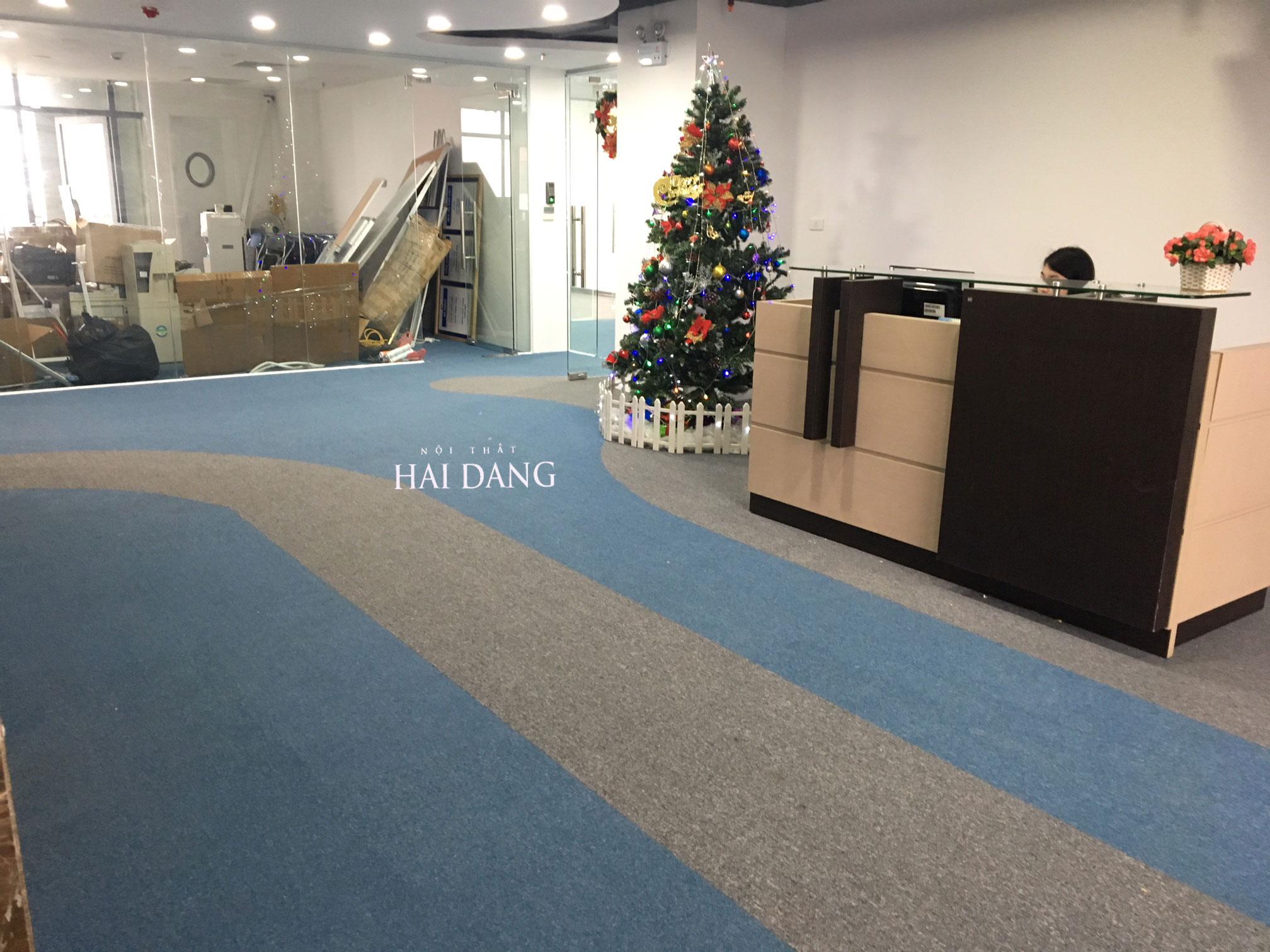 Thiết kế thảm trải sàn văn phòng ?